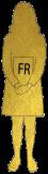 Illustration représentant une personne naturalisée en france